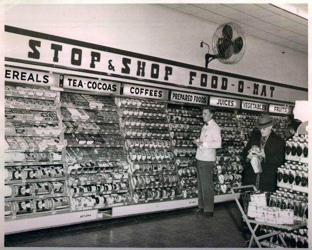 Stop & Shop interior