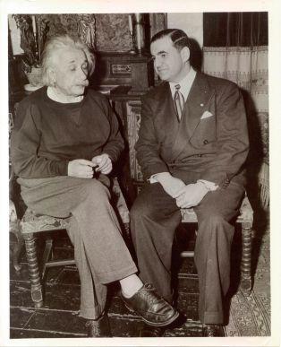 Norman Rabb and Albert Einstein