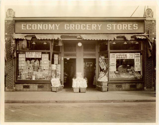 Economy Grocery Stores exterior