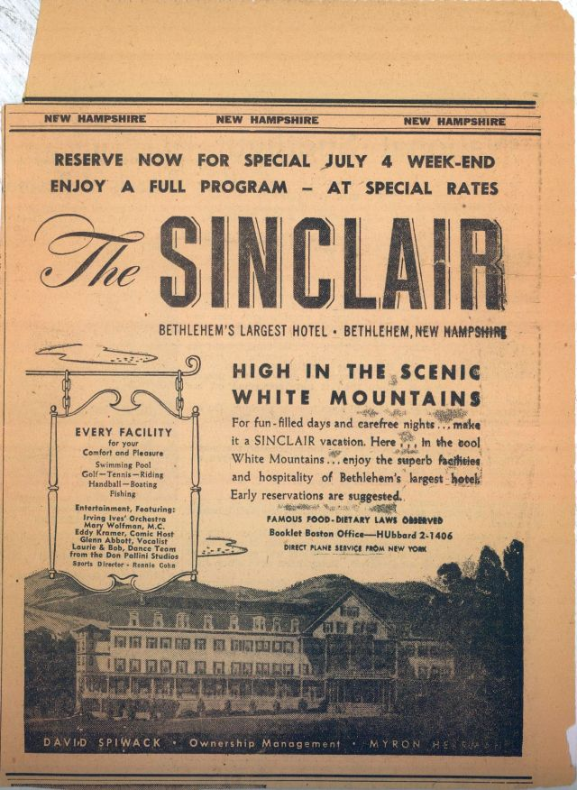 Fourth of July at the Sinclair Hotel