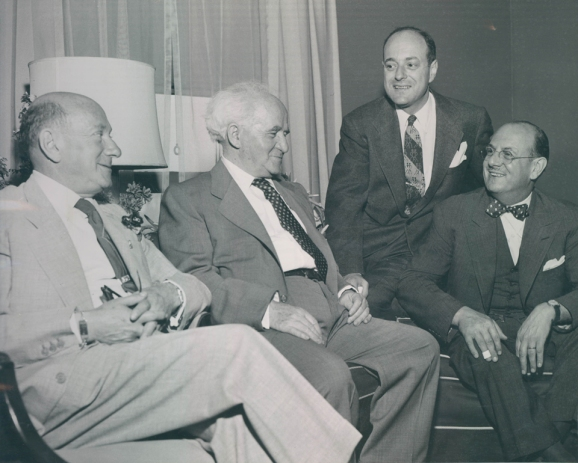 The Rabbs and Ben-Gurion